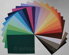 Colour Card 250gsm - soho paper products - packs of 25's