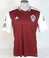 Adidas ClimaCool Colorado Rapids Burgundy Short Sleeve Soccer Jersey Mens NWT