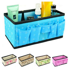 2014 Multifunction Folding Makeup Cosmetics Storage Box Organizer Flower 905