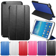 Fold Flip Leather Case Cover Stand For Samsung Galaxy Tab 3 8.0 T310 T311 T315