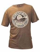 Guinness Distressed Moonshine Tee Shirt.  Official Guinness.