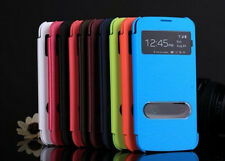 Luxury Flip View Smart Case Cover For Samsung Galaxy S2 i9100 i9105