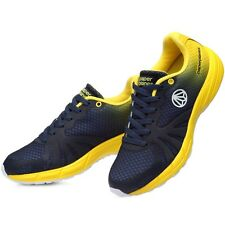 ESPRINT Running Shoes The Best Walking Sneakers COOL MESH NAVY-YELLOW A194
