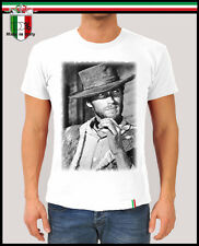"T-shirt ""CLINT EASTWOOD"", Film Cult Western Vintage Dollars, Nuova Collez. 2014!"