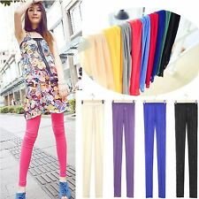 Women's Skinny Colorful Jeggings Stretchy SEXY Pants Nice Leggings Pencil Tights
