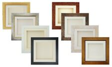"""5x5"""" to 18x18"""" 3D Box Picture Photo Frame Casts Display Baby 45mm/1.75"""" Deep"""
