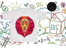 Lion #1 Graphic Print Kids T Shirt Tee Top / Cartoon Animal Boys Girls Child Toy