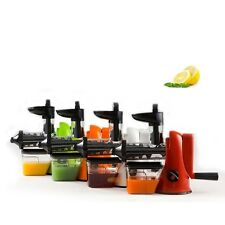 Manual Wheat Grass Fruit vegetables Juicer Grinder Single Auger Juice Press US