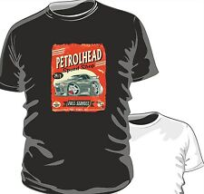 KOOLART PETROLHEAD SPEED SHOP JDM NISSAN SKYLINE R32 mens or ladyfit t-shirt B/W