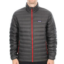 New Mens Patagonia  Down Sweater Jacket - Forge Grey