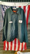 Spruce Green Red Kap Work Jacket - JT50 - Performance Panel Jacket
