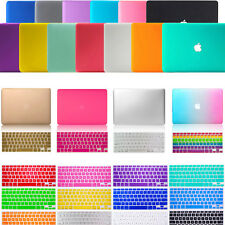 """Rubberized Matte Hard Case Keyboard Cover For Mac Book Air Pro Retina 11""""13"""" 15"""""""