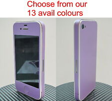 *Choice of 13 Colours* iPhone 4S Full Body Vinyl Decal Skin sticker