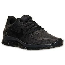 NEW! ALL SIZES Nike Free 5.0 V4 Cheetah Leopard Spots Black & Anthracite Running