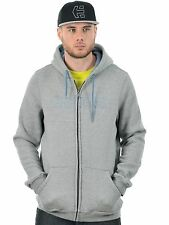 Etnies Grey-Heather Corp Stitch Zip Hoody