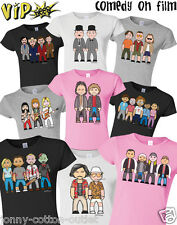 VIPwees Ladies T-Shirt Comedy Movie Inspired Caricatures Choose Your Design