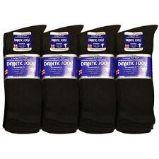 3  6  12 Pairs Cotton Diabetic Socks Physician Approved Help Blood Circulated