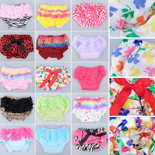 Baby Girl Kids Toddler Ruffle Pants Nappy Cover Bloomers Skirt Free Shipping B