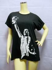 Freddie Mercury QUEEN T-shirt, GLAM Rock LEGEND, Black UNISEX Cotton S M & L New