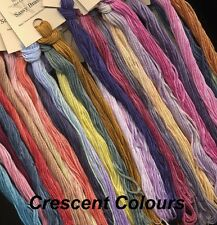 CRESCENT COLOURS/COLORWORKS - Colors M through Q, Cross Stitch, Over dyed Floss