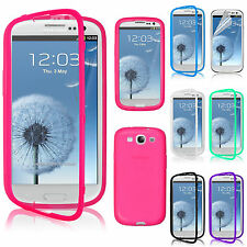 Slim Flip TPU Wrap Up Phone Case Cover For Samsung Galaxy S3 i9300
