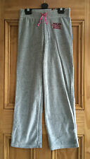 DISNEY NEW HSM HIGH SCHOOL MUSICAL GREY VELOUR JOGGING TROUSERS AGE 7 - 11 YEARS