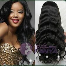 "12""-24"" front/full lace wigs big body wave 100% indian remy human hair wig"