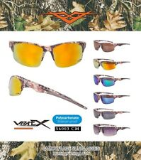 Camouflage Sport Sunglasses Half Jacket Hunting Fishing Outdoor UV400 56003 Camo