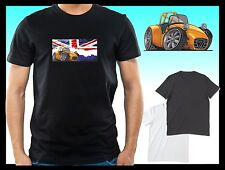 KOOLART CLASSIC BRITISH CATERHAM SEVEN 7 Mens or lady fit t-shirt tshirt top B/W
