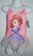 Girls Sofia Disney Princess swimsuit swimmers bathers swimming suit swimwear
