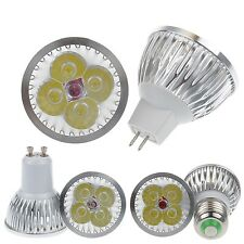 Dimmable High Power 9W 12W LED E27 MR16 GU10 Cool Warm White LED Bulb Lamp Light