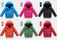2014 new children's clothing for boys and girls down jacket