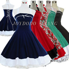 Vintage Dress 50's 60's Dancing Party Ball Prom Rockabilly Swing Polka Dot Dress