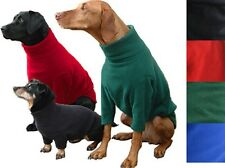 HOTTERDOG FLEECE JUMPER XS-XL RED, BLACK, ROYAL BLUE, FOREST GREEN IN STOCK