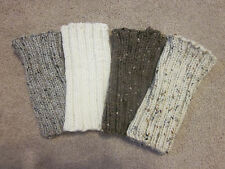 Hand Knit Boot Cuffs- Boot Cuff, Leg Warmers, Boot Toppers