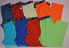 Polo Ralph Lauren Men's Pajama Lounge Pants Pony All Over S M L XL NWT$42 P823