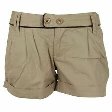 New Womens Fenchurch Biariz Cotton Shorts