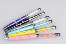 2in1 Touch Screen Stylus With Ballpoint Pen for IPad IPhone Ipod Samsung Galaxy