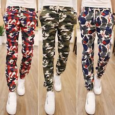 Men's Military Camouflage Casual Harem Pants Fashion Jogger Baggy Feet Trousers