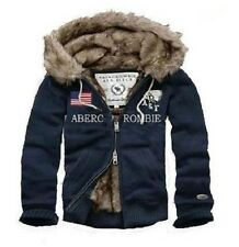 Brand New Abercrombie & Fitch A&F Men United States Flag Fur Hoodies S/M/L/XL