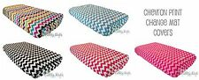 Baby Toddler Change Mat Cover - Super soft CHEVRON PRINT