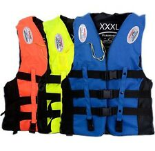 Life Jacket Vest Adult Impact BUOYANCY AID Life Jacket Fully Enclosed Speedboat