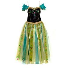 Frozen princes Anna cute Adult Cosplay coronation party Dress women costume New