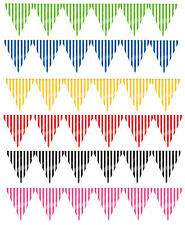 12ft Stripes Candy Flag Banner Bunting Garland Party Decorations Supplies here