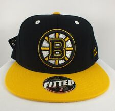 BOSTON BRUINS NHL FLEX/FITTED CAP NEW HAT BY ZEPHYR E-63
