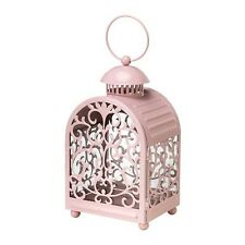 IKEA GOTTGORA Lantern for Candle in Metal Cup Light Pink