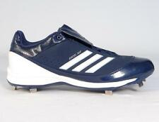 Adidas Excel 365 Dark Blue & White Metal Low Baseball Softball Cleats Mens NEW