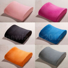 Car Seat Office Home Chair Memory Foam Lumbar Back Support Cushion Pillow