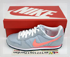 2014 Nike Wmns Genicco Grey Orange White Punch 644451-181 US 6~8.5 retro running