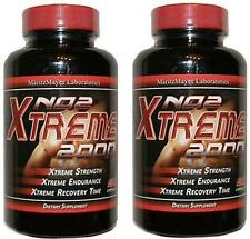 XTremeNO 2000 Nitric Oxide Boosting MUSCLE BUILDER Build Mass Muscle Gain Abs x2